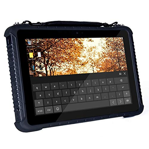 Tanstool - Tablet de 10,1 pulgadas de calidad industrial Win10Pro 4G Ram 64G Rom 4G LTE Llamada antipolvo impermeable y anticaída 2,4 G/5 G doble banda WiFi