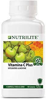 NUTRILITE vitamina C Paquete Familiar Plus - 180 Tabletas