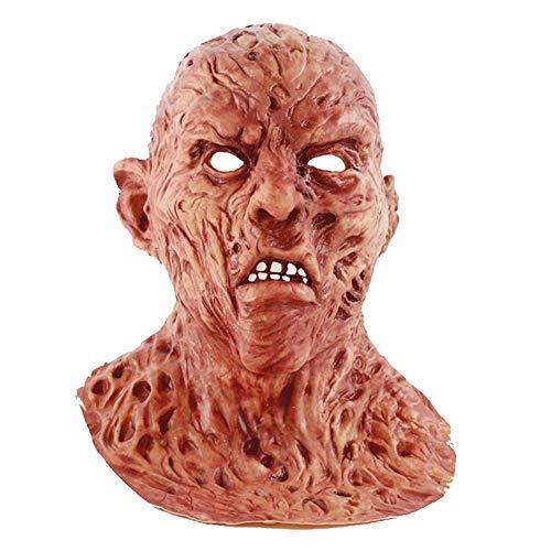 ZYER Adulto Halloween Freddy Bloody Horror Props, Cosplay