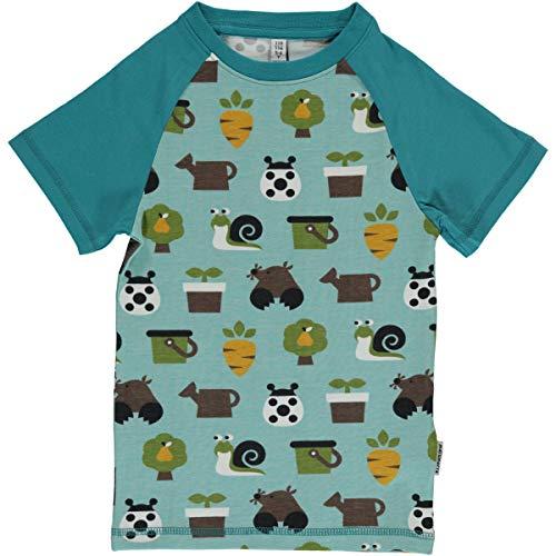 Maxomorra T-Shirt Kurz Slim Garden 86/92