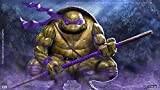 Poster World Póster de las tortugas ninja con acabado mate (30,5 x 45,7 cm), multicolor