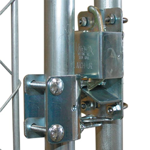 RanchEx 102551 Lockable Gate Latch Outside Diameter for Round Tube Gates 2 Way