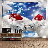 クリスマスの背景冬スノーフレークウィンドウシル月トナカイサンタガーランド花輪ホリデーファミリーパーティー子供の写真の背景の装飾フォトスタジオの小道具 6