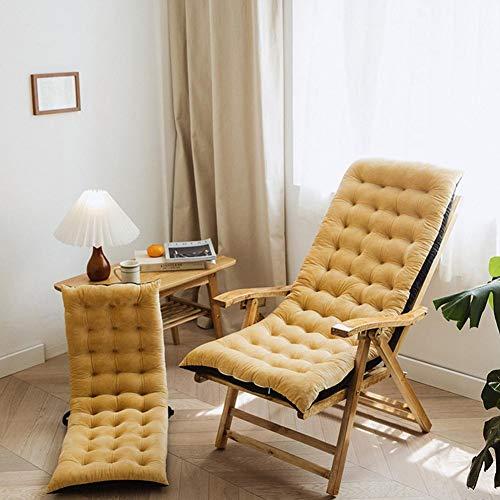 Banana Rocking Chair Cushion and Cushion Soft Removable Chair Cushion High Back Cushion Thick Large Chair Pad 100 x 40 x 8 cm (Cushions Only)