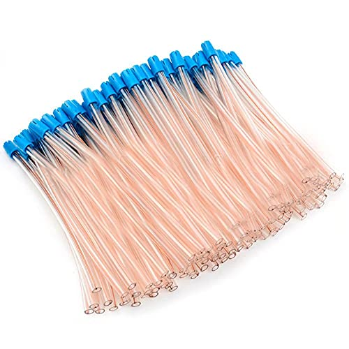 100Pcs Disposable Saliva Ejector Aspirator Tube Suction Tips Oral Care