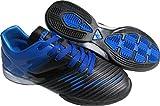 Vizari Kids Liga in Indoor Soccer Shoes   Boys and Girls (Blue/Black, 2)