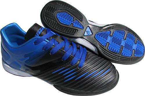 Vizari - Botas de fútbol Unisex (Talla 11,5), Color Azul y Negro