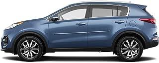 Dawn Enterprises CF-SPORT17 Chromeline Body Side Molding Compatible with Kia Sportage - Sparkling Silver (KCS)