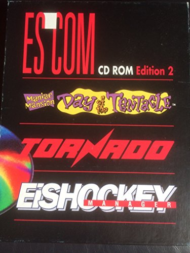 ESCOM CD Rom Edition 1+2 , Manic Mansion Day of the Tentacle , Tornado , Eishockey Manager , Historyline 1914-1918 , Comanche (Operation White Lightning) , Indiana Jones (Fate of Atlantis).