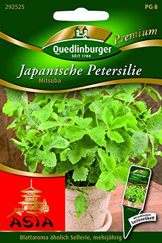 Japanische Petersilie, Mitsuba Quedlinburger Saatgut Samen 292525