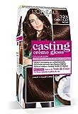 L'Oréal Paris Casting Crème Gloss Coloration Ton Sur Ton Sans Ammoniaque 3.23 Chocolat Noir - Lot de 2