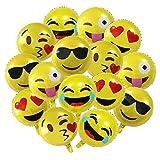 Meowoo Emoji Globos Reutilizable 26 Globos de Helio...