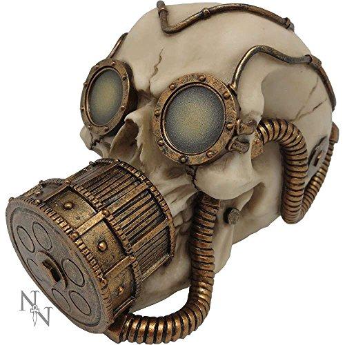 Steampak - Máscara de gas con diseño de calavera mecánica