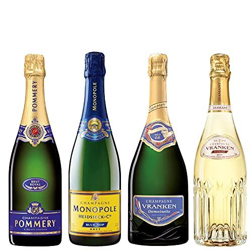 Erlesenes Champagner-Paket für Genießer inkl. Live Online-Verkostung