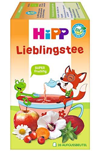 HiPP Teegetränke im Aufgussbeutel, Lieblingstee, ab 1 Jahr, DE-ÖKO-037 . - VE 30g (20x1,5g)