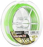 YGK Styles de Ligne de pêche G-Soul X8Upgrade PE 200m # 0,6/0.128mm/6,4Kilogram