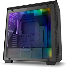 NZXT H700i - ATX Mid-Tower PC Gaming Case - CAM-Powered Smart Device - RGB and Fan Control - Enhanced Cable Management System – Water-Cooling Ready - Black - 2018 Model