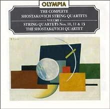 Shostakovich: String Quartets, Vol. 4 - String Quartets No.10 in A flat, Op.118; No.11 in f, Op.122; No.15 in e flat, Op.144