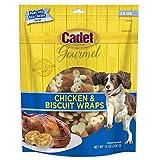 Cadet Gourmet Chicken Wrapped Biscuit Dog Treats 14 oz.