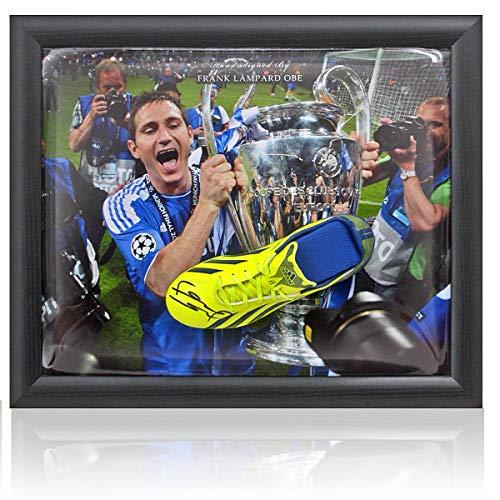 Frank Lampard OBE Chelsea FC Fußballschuh, handsigniert