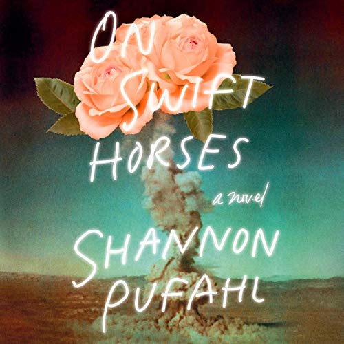 On Swift Horses audiobook cover art