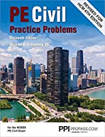 PPI PE Civil Practice Problems, 16th Edition – Comprehensive Practice for the NCEES PE Civil Exam