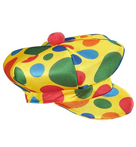 Widmann Clownmütze Clownhüte Kappen & Kopfbedeckung für Kostüme Zubehör