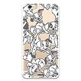 Funda para iPhone 6-6S Oficial de 101 Dálmatas Cachorros Siluetas para Proteger tu móvil. Carcasa para Apple de Silicona Flexible con Licencia Oficial de Disney.