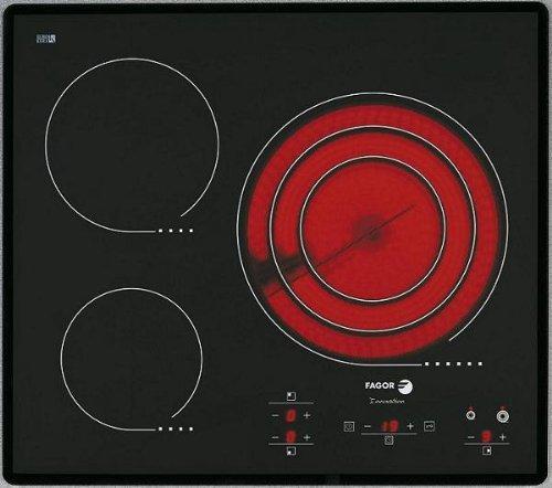 FAGOR 2 vft-330as Plaque – Plaque (intégré, électrique, céramique, électronique, capteur, 1.25 m) Noir