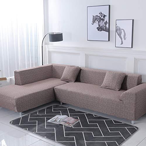 Funda de sofá con patrón geométrico para sofá seccional en Forma de L Funda de sofá Toalla de sofá Fundas de sofá para Sala de Estar A12 3 plazas