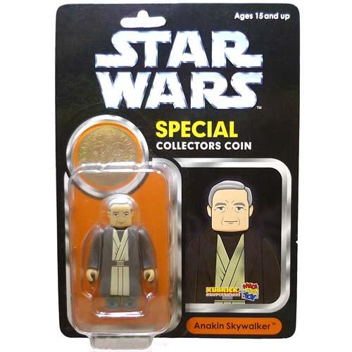 KUBRICK Kubrick Star Wars Special Collector coin Anakin Skywalker MEDICOM TOY EXHIBITION