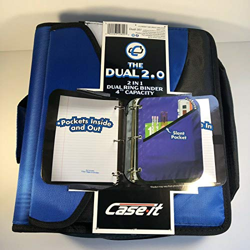 Case it The Dual 2 in 1 Dual Ring Binder 4