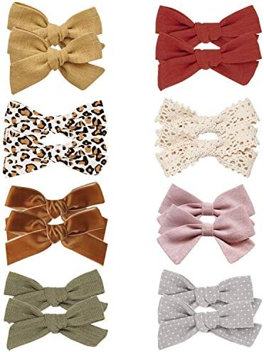 Baby Girl Hair Bow Clips Barrettes Assorted Hair Accessories Alligator Clip for Little Girls product image