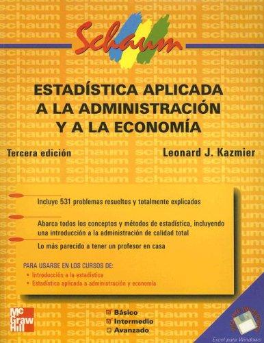 Estadistica Aplicada a la Administracion y a la Economia with 3.5 Disk...