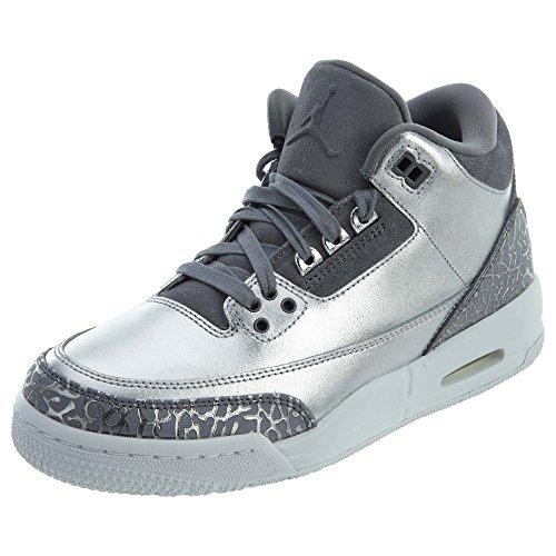 Nike Herren Air Jordan 3 Retro Prem Hc Basketballschuhe, Grigio, 39 EU