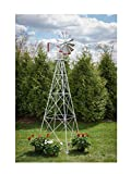Winguard: Premium Aluminum Decorative Garden Windmill