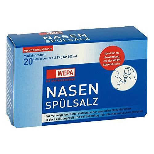 Wepa Nasensp�lsalz, 20X2.95 g