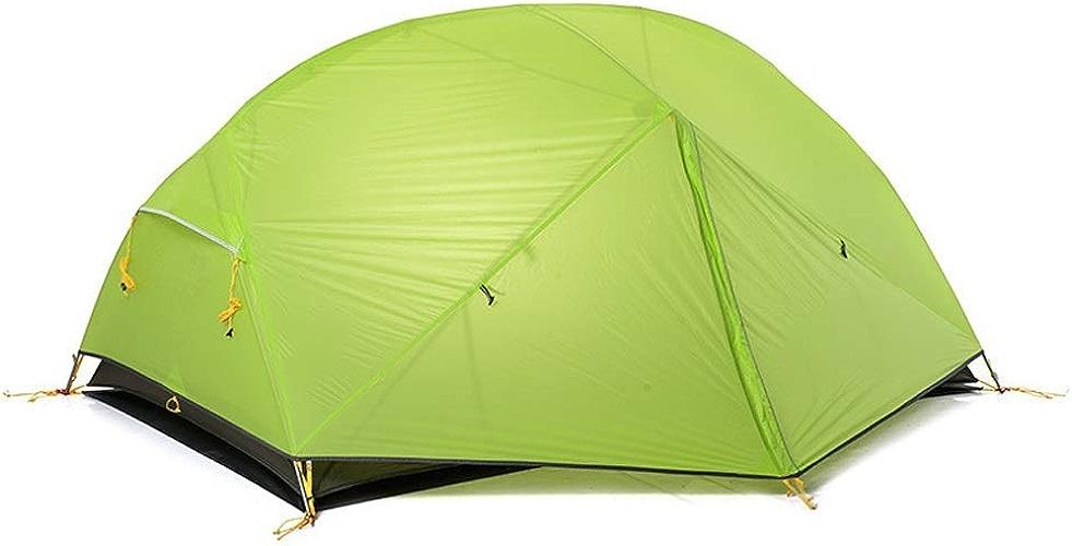 DAG-Outdoor Supplies Fournitures de Jardin Pratiques, Multi-Fonctions Camping 2 Personnes en Plein air Double Couche Super légère Tente de Camping imperméable Coupe-Vent