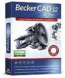 BeckerCAD 12 3D PRO - Profi-CAD-Software und 3D-Zeichenprogramm für Architektur, Maschinenbau, Modellbau und Elektrotechnik - kompatibel mit AutoCAD - Programm für Windows 10, 8, 7