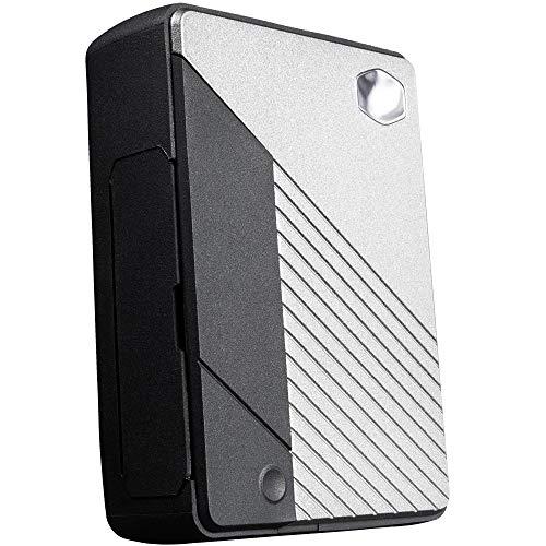 Cooler Master Pi Case 40 - Sottile telaio in alluminio con pulsante programmabile, dissipatore di calore passivo integrato, porte laterali protette in TPU, staffe di montaggio universali - Black