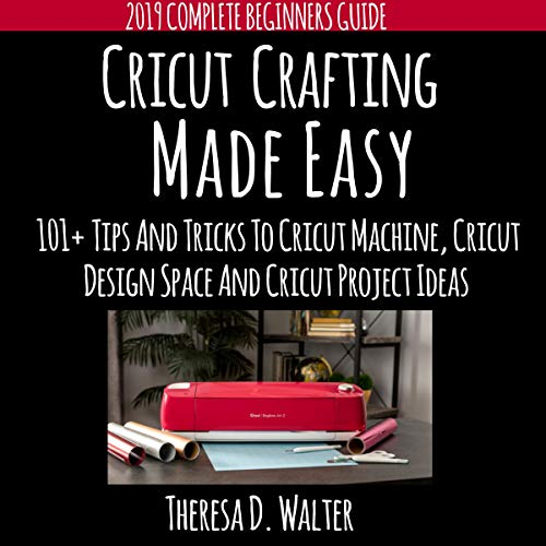 Cricut Crafting Made Easy audiobook cover art