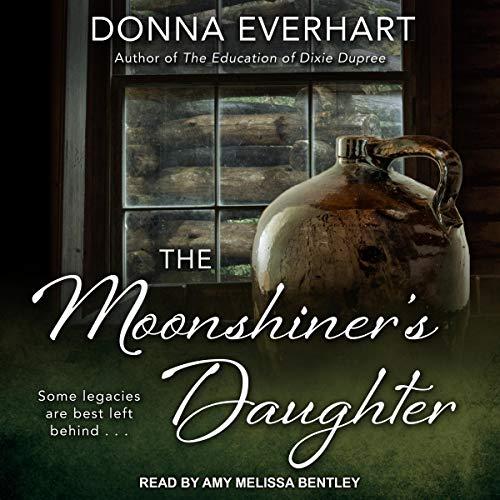 The Moonshiner's Daughter audiobook cover art