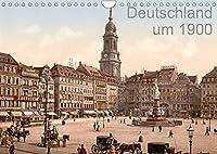 Deutschland um 1900 (Wandkalender 2022 DIN A4 quer): Die schoensten Staedte Deutschlands um 1900 in Farbe (Monatskalender, 14 Seiten )