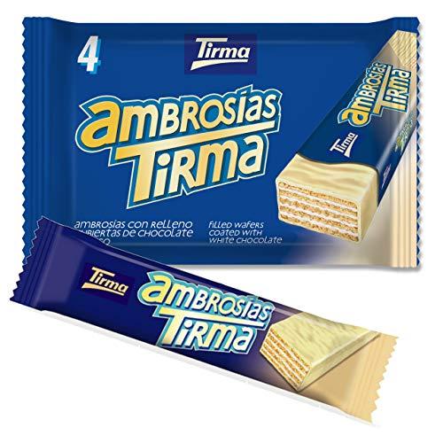 Tirma Ambrosías Blanco, Chocolate, 4 Unidades X 21.5 G, 86
