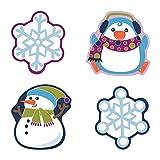 Carson Dellosa – Winter Mix Colorful Cut-Outs,...