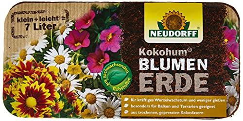 Neudorff 00270 Kokohum Blumen Erde Brikett, 1 Stück