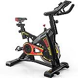 DBSCD Equipo de Entrenamiento físico, Bicicleta de Interior con Rodillo móvil y Soporte, Bicicleta de Ejercicio silenciosa Ajustable, Sistema de estabilización Triangular, no es fácil de sacudir
