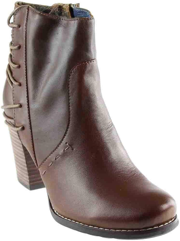 Corkys Womens Elite Westie Boots Brown