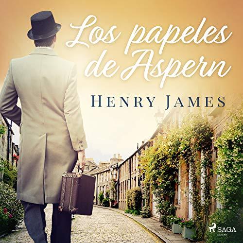 Diseño de la portada del título Los papeles de Aspern
