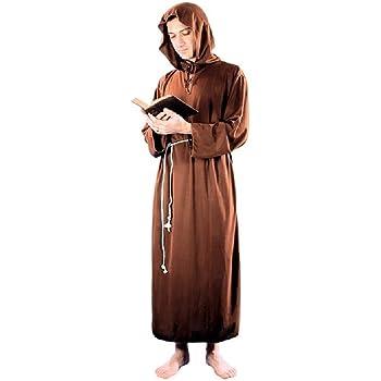 Fyasa 893343-txl disfraz de monje, talla XL: Amazon.es: Juguetes y ...